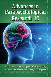 Cover of Advances in Parapsychological Research 10