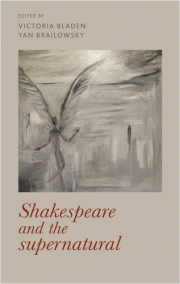 Cover of Shakespeare and the supernatural