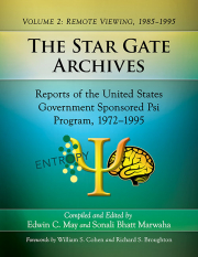Cover of The Star Gate Archives. Volume 2: Remote Viewing, 1985–1995