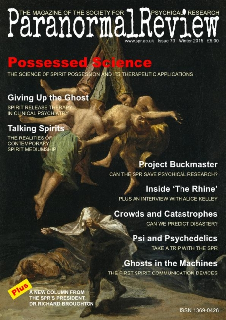 Possessed Science - Paranormal Review, 73 (Winter 2015)