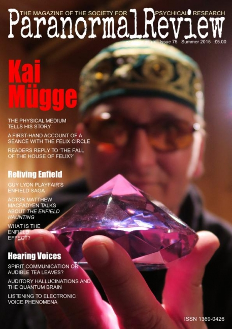 Kai Muegge - Paranormal Review, 75 (Summer 2015)
