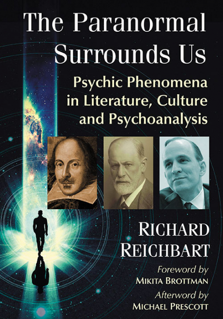 Cover of The Paranormal Surrounds Us