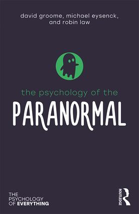 Cover of The Psychology of the Paranormal