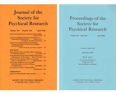 Journal and Proceedings of the Society for Psychical Research